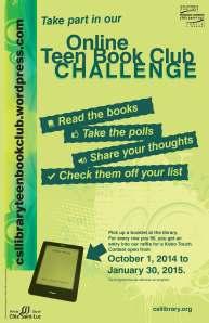 Online Teen book club Challenge poster 10x15 2014-09 (1)